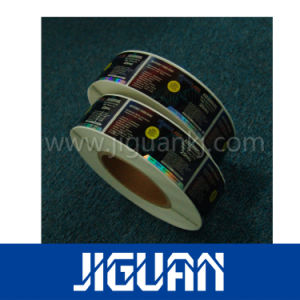 Holographic Material Transparent Film Sheet Label pictures & photos
