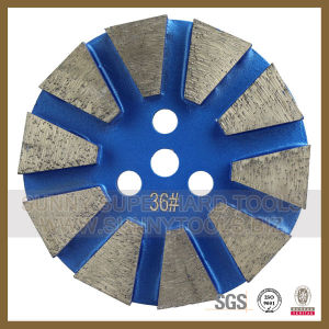 Diamond Floor Grinding Concrete Plates (SYYH-07) pictures & photos