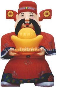 China Inflatable God of Wealth Mascot for Sale K2002 pictures & photos