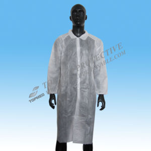 Long Sleeve Medical Lab Coat/Chemistry Lab Coats pictures & photos