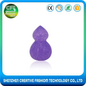 New Arrivals 100% Pure Glitter Gourd Shape 3D Silicone Makeup Sponge pictures & photos