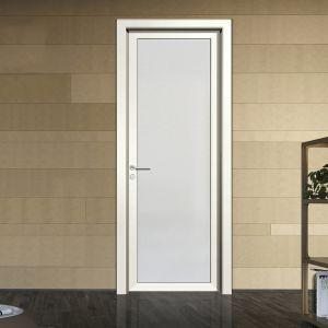 China Waterproof Aluminium Interior White Kitchen Glass Swing Door China Kitchen Swing Door Kitchen Door White
