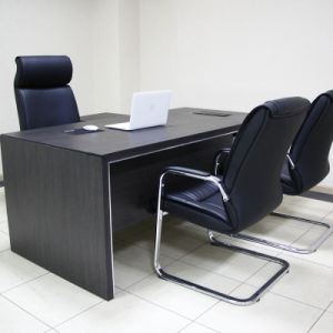 China Portable Office Small Two Side Dual Computer Desk Workstation China Office Table Wooden Furniture