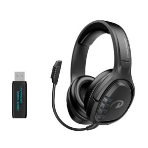 Dl Sound 2.4G Wireless Gaming Headset Audio Headphone for Computer PS4 xBox Switch
