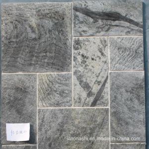 China Light Grey Slate Tiles For Wall