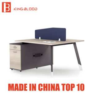 Office Furniture Plastic Parion Computer Workstation Desk