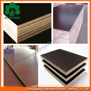 Construction Use Poplar Core Film Faced Plywood