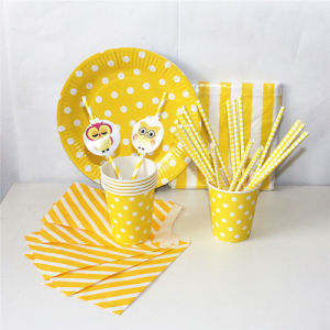 Yellow Color Party Paper Favor with Different Designs pictures & photos