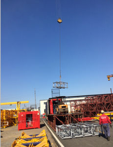 CE Certified Construction Equipment Building Hoist Mast Mad in China pictures & photos
