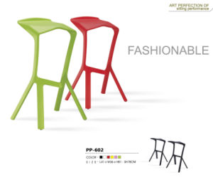 Colorful Plastic Bar Chair PP602 pictures & photos