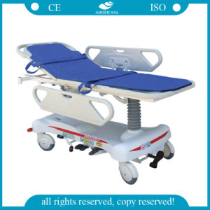 AG-HS008 Hydraulic Emergency Stretcher Hospital Furniture pictures & photos