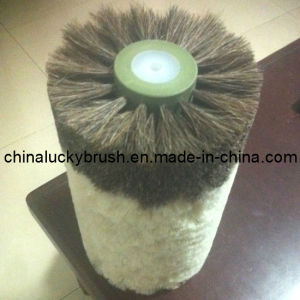 China Manufacture Hair Mixture Shoe Polishing Wheel Brush (YY-008) pictures & photos