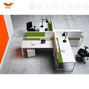 Good Quality Modern 4 Person Seat Work-Station Office Screen pictures & photos