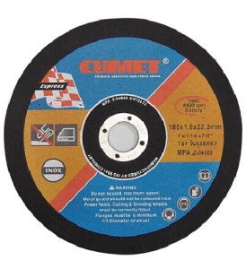 Flat Cutting Disc for Inox (180X1.6X22.2) Abrasive with MPa Certificates pictures & photos
