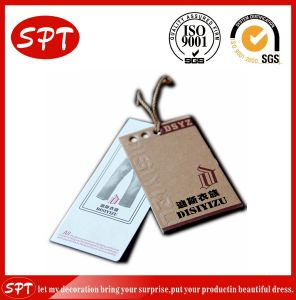 Good Quality Paper Label / Hangtag for Clothing Tags