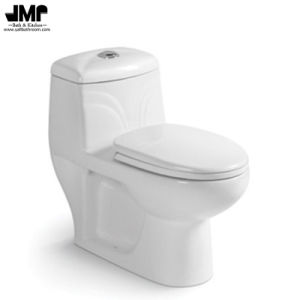 Bathroom Sanitary Wares Washdown One Piece Ceramic Toilet pictures & photos