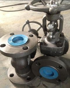 Forged Steel Flanged Gate Valve in ANSI (Z41H-150LB) pictures & photos