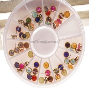 Nail Art Pearl Beauty Decoration Wheel (D78)