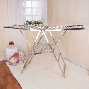 Stainless Steel Butterfly Shape Clothes Drying Rack (198c)