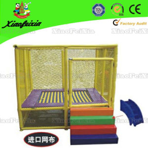 Mini Rectangle Trampoline for Children with Safety Net (LG070) pictures & photos