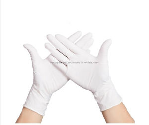 High Quality Good Price Powder Free Disposable Latex Gloves pictures & photos