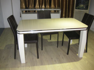 Merveilleux (ST 138) Home Furniture International Style MDF Dining Table