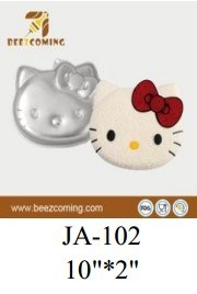 Bakeware Lovely&Superior Quality and Attractive Prices DIY Aluminium Cake Decorating Mould--Holle Kitty