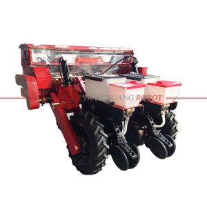 2 Rows Air Suction Corn Seeder Maize Planter with Fertilizer Seed Drill