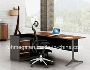 Luxury Melamine Executive Office Desk Manager Desk (FOH-HTB241) pictures & photos