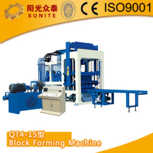 Automatic Hydraulic Brick Making Machine Qt4-15 pictures & photos