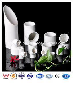 PVC Sch 40 Pipe and Fitting for Water Supply pictures & photos