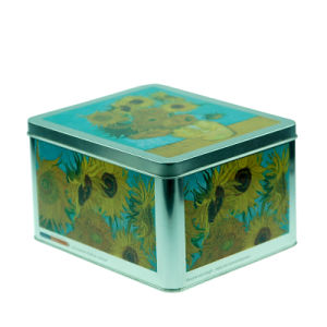 Large Tin Condom Storage Box (NC2739)