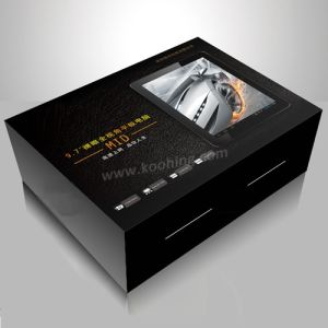Black Paper Box for Garment Electronics Chinese Manufacturer pictures & photos