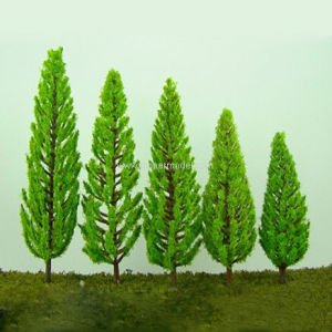 Artificial Plastic&Iron Wire Scale Model Trees for Architectural and Train  Model Decoration