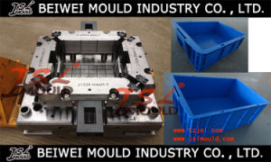 Custom Plastic Crate Bin Mould Maker pictures & photos