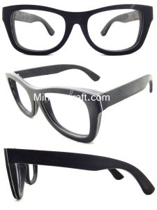 Customized Sunglasses Fashion with Competitive Price, Wooden Sunglasses-by-37