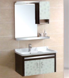 China Hot Sale Wall Mounted Bathroom Cabinet pictures & photos