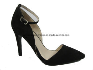 Two Colors Wholesale Lady Fashion High Heel Dress Footwear for Party