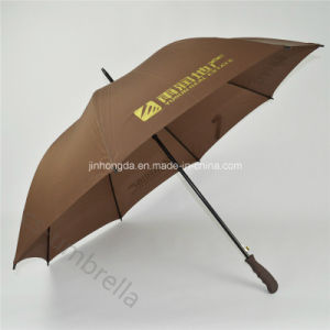 "Coffee 27"" Promotional and Advertising Golf Straight Umbrella (YSS0115)"