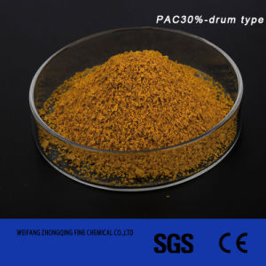 Poly Aluminum Chloride Drum Type for Water Treatment PAC30% pictures & photos