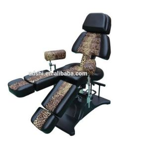 China Good Quality Leopard Hydraulic Tattoo Chair For