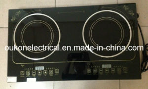 Two Plate Electric Ceramic Cooker-OUCC-008