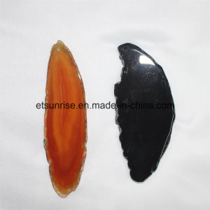 Semi Precious Stone Mix Color Agate Slices pictures & photos