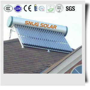Heat Pipe Evacuated Tube Solar Water Thermal Heater pictures & photos