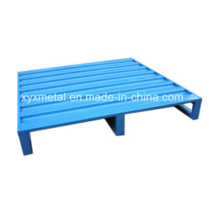 Heavy-Duty Steel Powder Coated Stackable Pallet pictures & photos