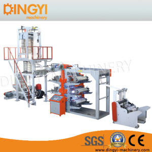 Film Blowing Machine with Four Color Printing Set pictures & photos