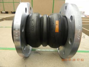 Double Sphere Flange Rubber Joint with Root Ring pictures & photos
