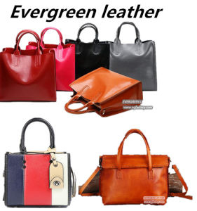 Classical Design Handbag Fashion Woman Shoulder Bags Genuine Leather Lady Tote Bag From China Emg5222 pictures & photos