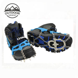 Plastic Deck Foam Padded Ratchet Binding Hiking Snowshoes pictures & photos