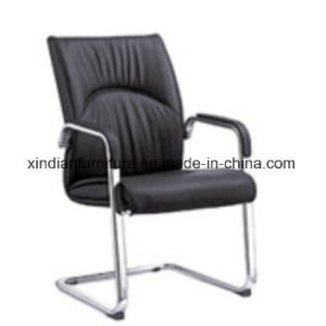 Fixed Office Manager Boss Executive Chair With Leather Faced